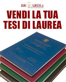 Pubblicare tesi di laurea