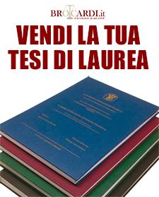 Pubblicare tesi di laurea