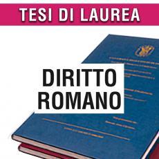 Consulenza legale in giurisprudenza in materia di diritto romano
