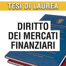 Consulenza legale in giurisprudenza in materia di mercati finanziari
