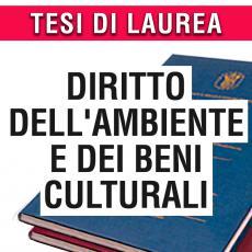 Consulenza legale in giurisprudenza in materia di diritto dell'ambiente e dei beni culturali