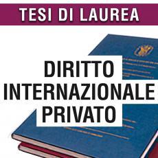 Consulenza legale in giurisprudenza in materia di diritto internazionale privato
