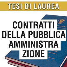 Consulenza legale in giurisprudenza in materia di contratti della pubblica amministrazione