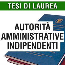 Consulenza legale in giurisprudenza in materia di autorità amministrative indipendenti