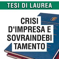 Consulenza legale in giurisprudenza in materia di crisi d'impresa e sovraindebitamento