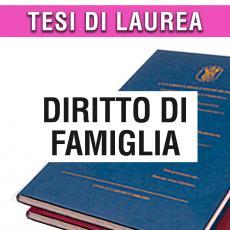 Consulenza legale di giurisprudenza in materia di diritto di famiglia