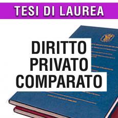 Consulenza legale di giurisprudenza in materia di diritto privato comparato
